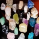 Crystals and Chakra Guides - how to use crystals - gemstones - chakra stones. Photo of alot of crystals.