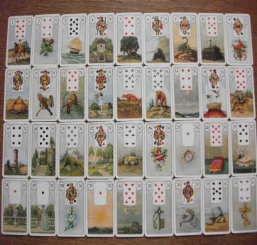 Learn the art of Lenormand card readings. With this course it's easy, inspiring, life-changing and absolutely flexible, as you decide on the where, when and how.