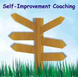 Self-Improvement Coaching, personal insights into soul path, life purpose. Photo of signpost pointing into various directions. It's time to make some positive changes in your life. Give our self-improvement coaching a try.